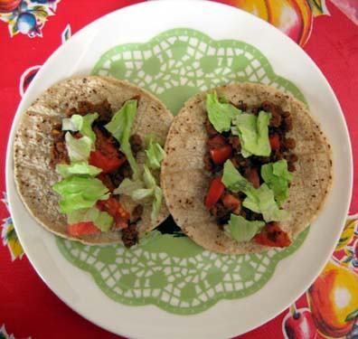 Vegitarian Tacos