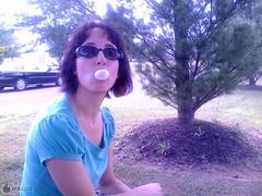 Michelle (portableteejay) Tags: michelle bubblegum phonepost