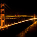 Golden Gate at Night 作者 diyosa