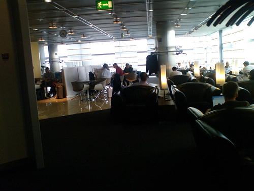 Lufthansa Senatorl Lounge in Frankfurt