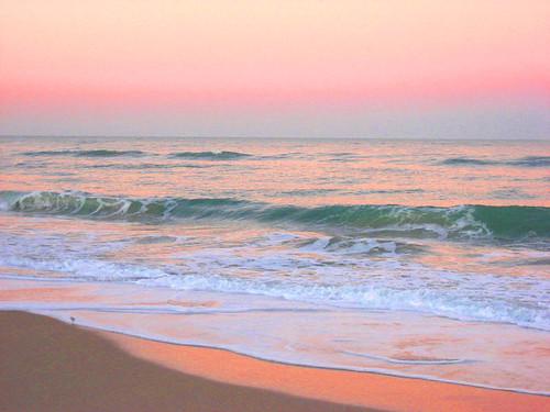 Pastel Ocean Background Pastel Ocean Sunrise