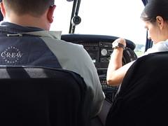 Pilot monkey...