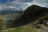 Snowdon in shadow (jimmedia) Tags: from shadow back track looking hell down we snowdon descend llanberis snowdonia