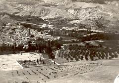 Vista del pueblo 1965-66