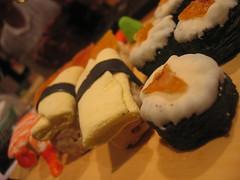 sushi-shaped desserts