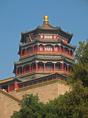 The Summer Palace (shutterBRI) Tags: china travel tower canon temple photography photo buddha chinese beijing palace powershot imperial summerpalace 2007 thesummerpalace a630 shutterbri brianutesch towerofthefragranceofthebuddha brianuteschphotography