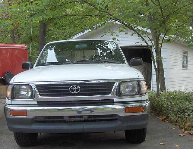 truck bucket garage pickup toyota tacoma 1995 trailer