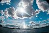 back from sailing (frischmilch) Tags: sky sun lake water clouds boat sailing poland fisheye sail rhyn sailingmasuria