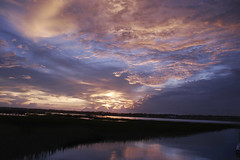 371_7176 (naturesviews) Tags: sunset sky sun clouds skies sunsets skyshow settingsun murrellsinlet wondersofnature godspaintings skypaintings