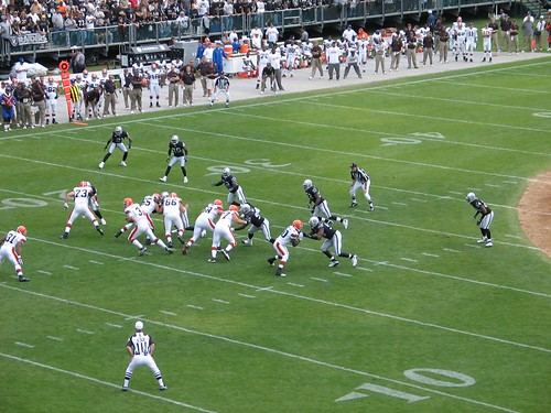 Oakland Raiders vs. Cleveland Browns