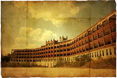 Waverly Hills Sanatorium (deatonstreet) Tags: windows painterly building texture abandoned digital photoshop hospital ruins kentucky manipulation haunted hills explore historical louisville aged sanatorium waverly tuberculosis