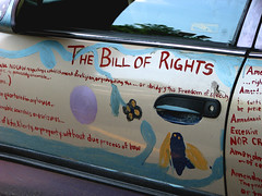 LoooOove my rights! (fusion-of-horizons) Tags: ohio usa car canon painting us is geek cincinnati things powershot explore constitution s3 amendment amendments explored unitedstatesconstitution thebillofrights