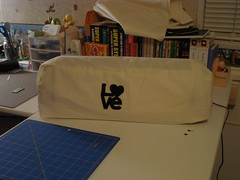 My Cricut Expression Cover (melissacopeland) Tags: love felt cricut cricutexpression cricutcover cricutexpressioncover