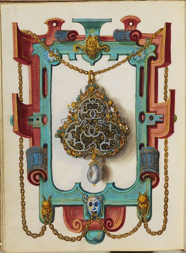 Jewel Book of the Duchess Anna of Bavaria (1550s) x