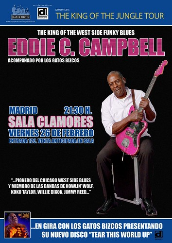 EDDIE C CAMPBELL poster MADRID low