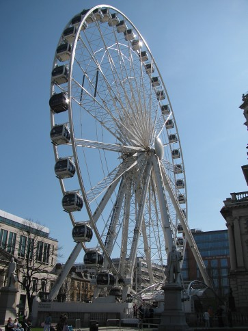 Belfast wheel last day #4