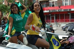"""I Love Brazil"" Brazilian Girls! (austinhk) Tags: world africa girls brazil canada hot sexy cup brasil southafrica photo dance football bresil montral image quebec montreal fifa flag soccer south crowd watching picture images cte flags wm menschen tournament wc qubec babes vs fans cheer worldcup monde coupe crowds fever versus ctedivoire cotedivoire ivorycoast divoire coupedumonde copadelmundo austinhk austink worldcupfans copamundo coupdumonde fifaworldcup2010 worldcup2010 coupedumonde2010 worldcup2010insouthafrica"