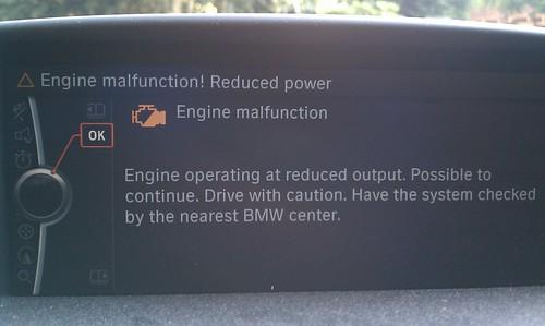 Engine fault
