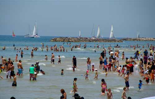 Popular Beach - Tel Aviv, Israel height=320