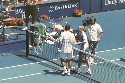 Andre Agassi vs. Pete Sampras