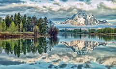 The Magic Place - Oxbow Bend (Jeff Clow) Tags: morning nature landscape snakeriver wyoming mountmoran nationalparks grandtetonnationalpark oxbowbend supershot jacksonholewyoming mywinners natureselegantshots