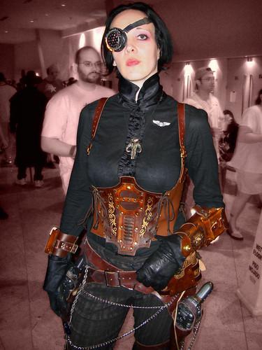 cute topf25 leather costume pretty cosplay corset dragoncon 2010 steampunk dragoncon2010