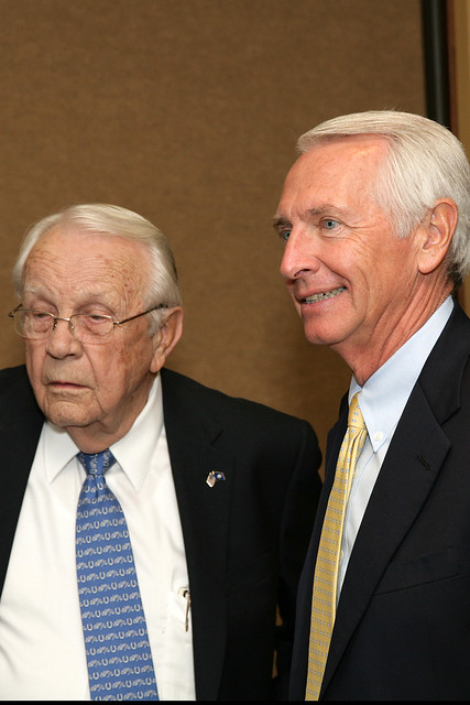 Former Governor Wendell Ford and Governor Steve Beshear