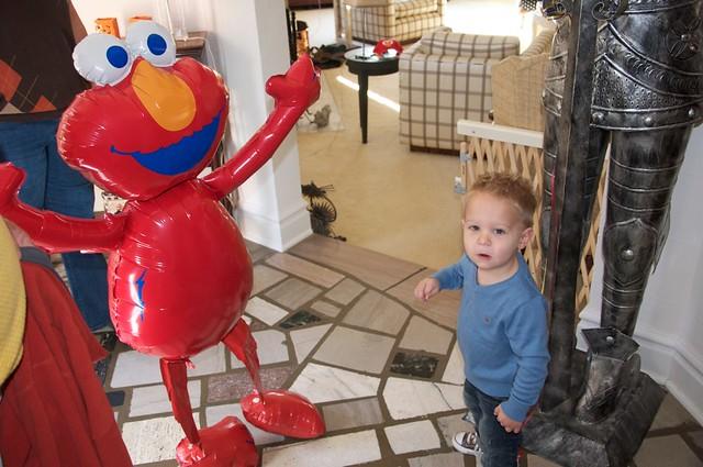 Whoa!  It's Elmo!
