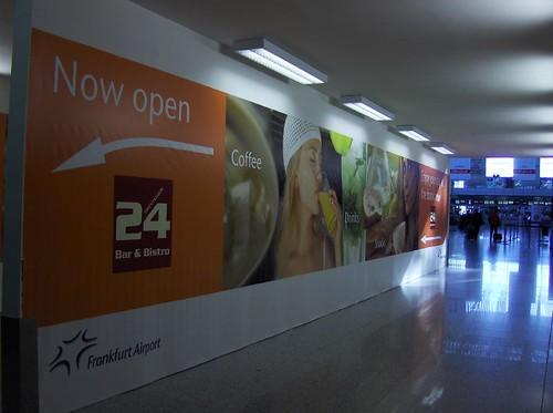 法蘭克福機場一隅