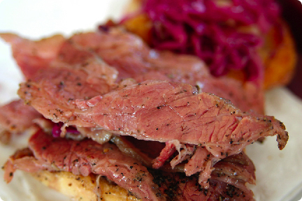 Oinkster pastrami