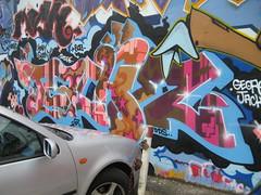 Teach DDS (Tatty Seaside Town) Tags: graffiti brighton graf teach rk dds northlaine brightonhiphopfestival july2007 bhhf tattyseasidetown