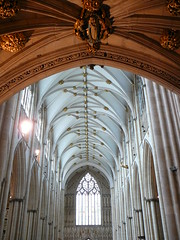 York Minster vaulted ceiling - by the noggin_nogged