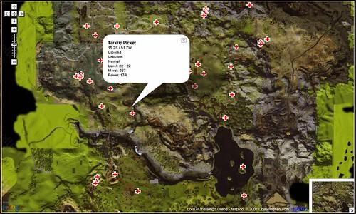 ロード・オブ・ザ・リング オンラインのGoogle マップ(Google maps for the Lord of the Rings)
