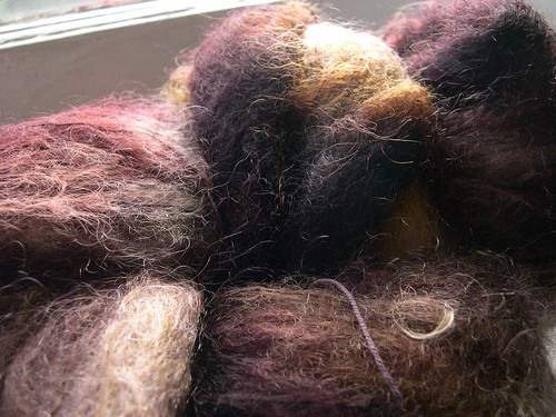 chocolate mohair
