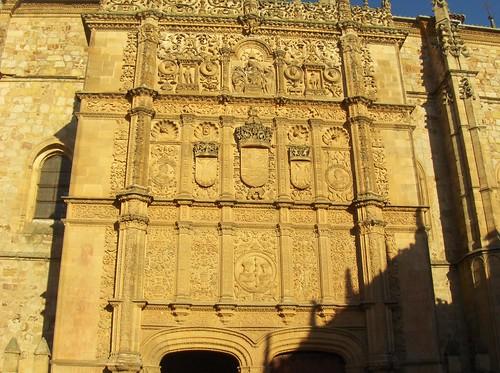 University facade in Salamanca