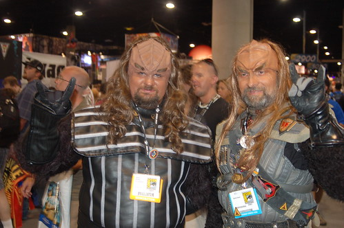 Comic Con 2007: Klingons are less metal than expected