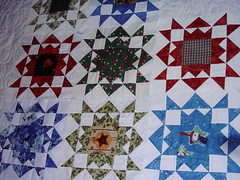 Christmas Star Blcok Swap 2006 (juststitchin60) Tags: quilt 2006 projects my