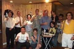 From 8/18 sake meetup@ginjo kura 66