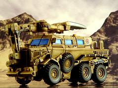 Bonecrusher - minesweeper mode (pairadocs) Tags: truck toy actionfigure robot mod military plastic transformers vehicle custom modding modder minesweeper decepticon pairadocs pairadocsdesignlab