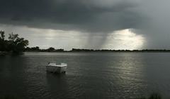 Lake Afton (Abdul Basit) Tags: cloud lake storm rain weather clouds boat kansas thunderstorm storms wichita shaft severe thunderstorms severeweather lakeafton rainshaft kansasf10 kansasthunderstorm kansasthunderstorms