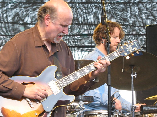 John Scofield and Billy Martin