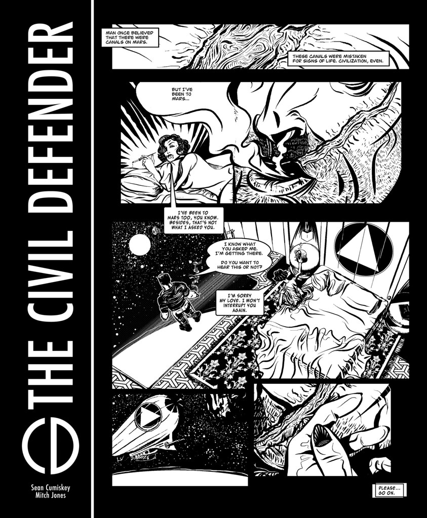 The Civil Defender: Space is the Place for Love - Page 1