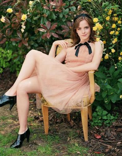 Emma Watson riendo