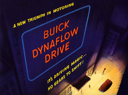 Buick Dynaflow Drive, 1948