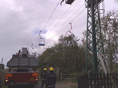 Storm Rescue (g1smy) Tags: rescue coast scenic vectis isleofwight chairlift iow alumbay iw n95 theneedlespark