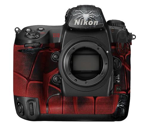 Nikon D3 Ediciones de Super Héroes