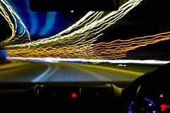 M5 Motorway Night Light Trails (©Komatoes) Tags: 2 motion blur car vw night golf 50mm lights drive nikon long exposure driving motorway trails explore devon exeter freeway nightlight lighttrails m5 carlights lighttrail carlight d40 lightingtheway roadlight nikond40 nightlighttrails hawaalrayyanfav motorwaylight longexposurenightlighttrails longexposurenightlighttrail