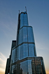 Trump Tower Chicago (Robiats) Tags: usa chicago lptowers