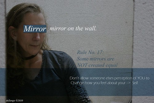 Mirror, mirror on the wall..