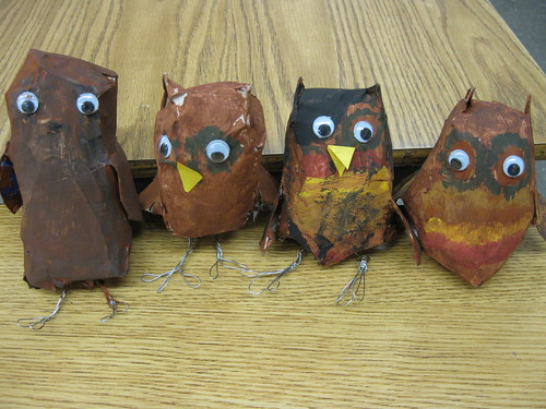 Craft Club Owls
